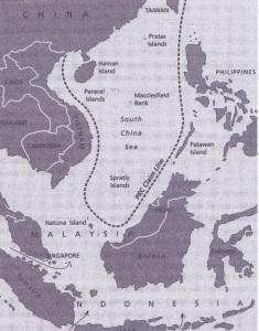 South China Sea and Key Straits