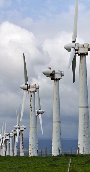 Abandoned Hawaii Wind Turbines
