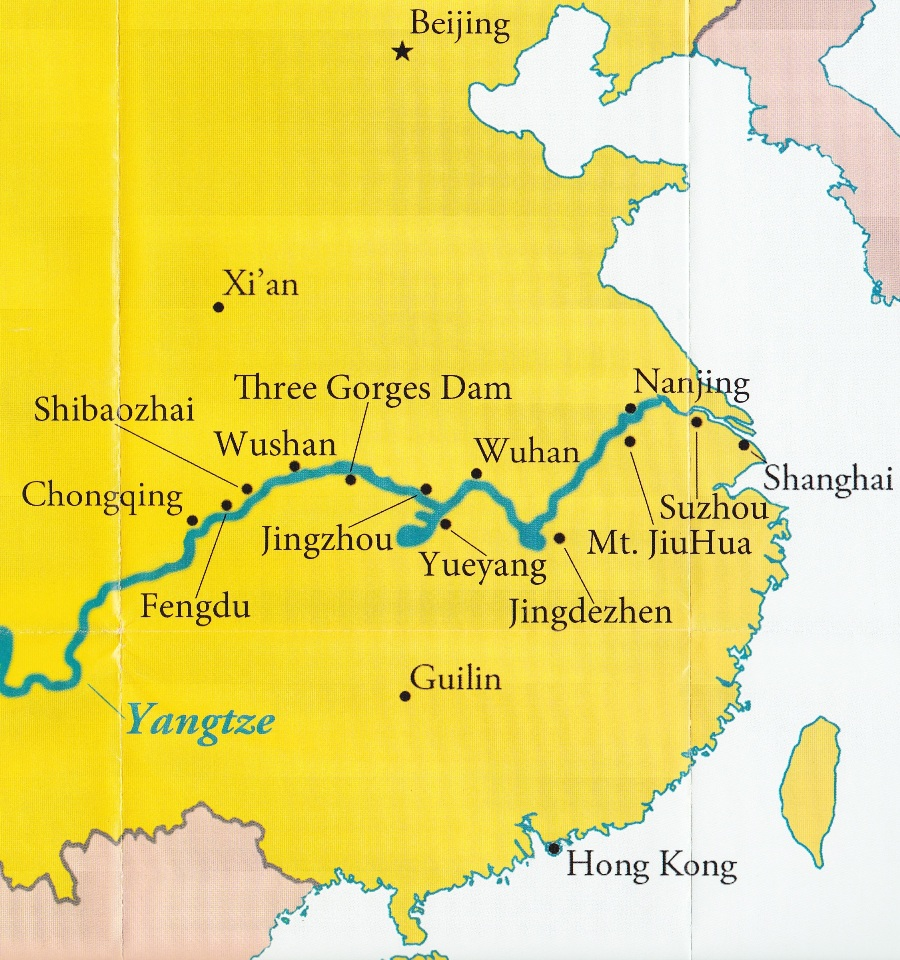 China Impressions Power For USA - 2 largest rivers in the world