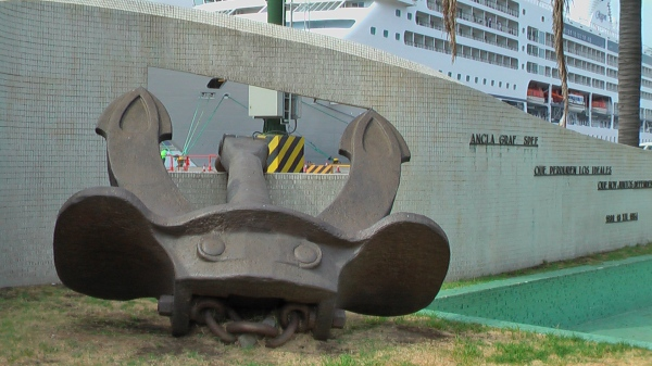 Picture by D. Dears of Graf Spee anchor, Montevideo, Uruguay