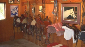 Tack Barn at Reagan Ranch.. Photo by D. Dears