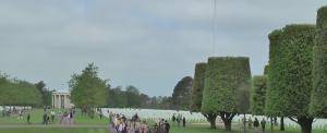 Partial view of American Cemetery. Photo by D. Dears