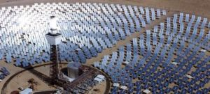 Concentrating solar power tower from EIA