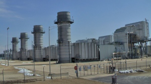 Gas turbine power plant. Photo by D. Dears