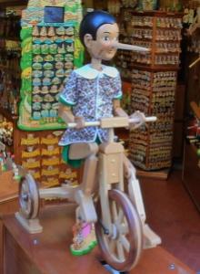 Pinocchio. Photo by D. Dears