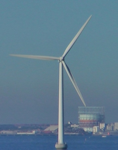 Wind Turbine. Photo by D. Dears