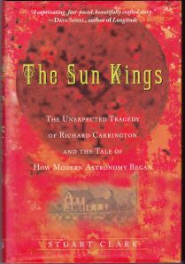 Book Cover, The Sun Kings by Stuart Clark