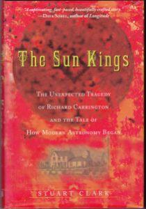 Book Cover, The Sun Kings by Stuart Clark