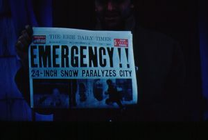 Headline from Earlier Winter Weather, Symbolic of Recent Emergency