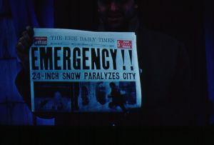 Headline from Earlier Winter Weather, Symbolic of Recent Emergency