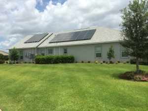 PV Rooftop Solar Installation Photo by D. Dears