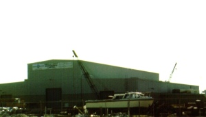 MEEL Plant, Under Construction 1973, Photo By D. Dears