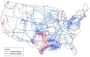 Natural Gas Transmission Pipelines, from EIA