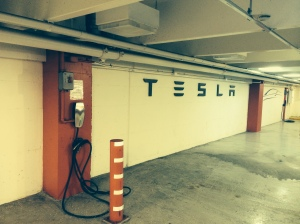 Tesla Charging Stations. Photo by D. Dears