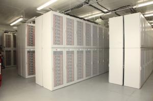 Tehachapi Storage Project Using 604,832 Li-ion cells. Photo by Southern California Edison.