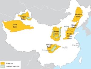 China Shale Basins