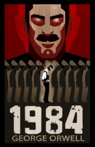 Cover from Novel by George Orwell