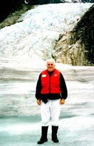 D. Dears on Mendenhall Glacier