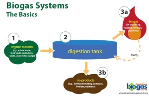 Flow chart courtesy of American Biogas Council