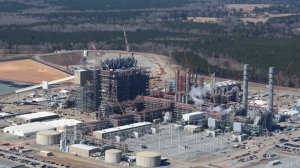 Photo of Kemper Power Plant, courtesy of Mississippi Power Company