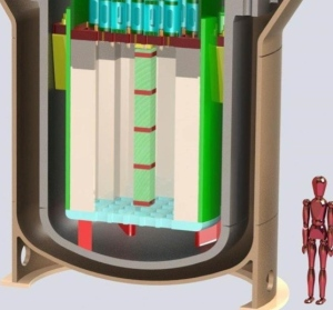 From NuScale, Depicting Relative Reactor Size